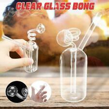 11cm Hookah Water Glass Bongs Smoking Pipes Shisha Tobacco Smoke Bottle