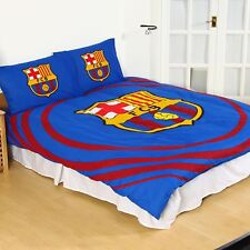 FC Barcelona Kids Christmas Gift Pulse Double Duvet Cover and Pillowcase Set