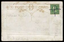 Dunnell MN Manuscript RFD cancel Type 11F Route 2 Martin County UNLISTED RFD108