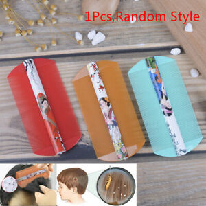 1XStyling Tools Lice Comb Encryption Grate Both Side Dandruff Hair Care Bru-xd