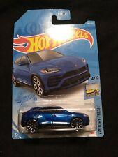 Hot Wheels 2021 '17 Lamborghini Urus 4/10 Factory Fresh 64/250 Short Card