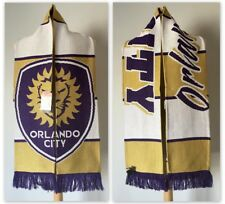 New ListingAdidas Mls Men's Soccer Orlando City Lions Jacquard Knit Scarf, Purple