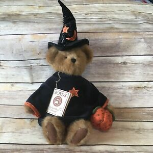 Boyds Bears Esmeralda Witch Halloween Teddy Bear Plush Best Dressed Series