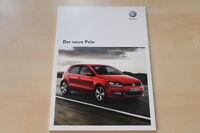 75546) VW Polo 6R Prospekt 06/2009
