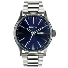 Nixon A3561258 Sentry SS Blue Sunray Stainless Men's Analog Watch