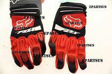 FOX RACING PAWTECTOR GLOVES (RED) 01016-003-S