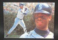 1995 Fleer Flair KEN GRIFFEY JR Double P Foil Surface #81 / HOF MINT