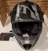 FXR Racing Blade 2.0 Carbon Race Division Helmets BLACK Ops