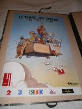 MOEBIUS. Affiche pour Le Temps des Livres 1994. Ministère de la Culture Francoph