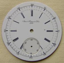 Huguenin Dros for Repeater good condition Rare Vintage Porcelain Dial 45mm J.