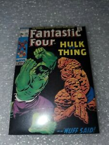"Fantastic Four Hulk Thing Marvel Comics Refrigerator Magnet 2"" X 3"""