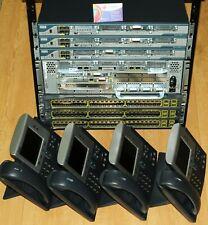 Complete CISCO CCNP VOICE ( CCVP ) and CCIE VOICE LAB  CISCO2801 CP-7940G 6mth
