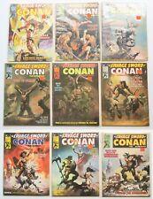 The Savage Sword of Conan the Barbarian Comic Book Magazine Lot of 9 1971
