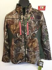 Under Armour Womens L Speed Freek ColdGear Scent Control Camo Jacket 1247079 340