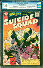 Brave and the Bold #25 CGC 4.0 DC 1959 1st Suicide Squad! Movie! L9 935 cm clean