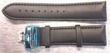 NWT - PIPPO GENUINE CABG WATCH STRAP/BAND Black 22 mm