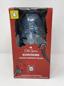 Old Spice Krakengard Figurine Deodorant Holder with Deodorant Collectible Kraken