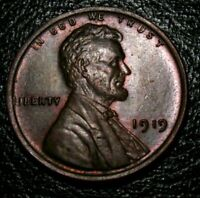 OLD US COINS UNCIRCULATED 1919 Lincoln Wheat One Cent PENNY BU UNC 1 C