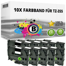 10x Farbband kompatibel Brother P-Touch 1000 1010 1080 1090 1230 PC1250 1280 ttp
