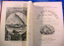 JULES VERNE HETZEL LES VOYAGEURS du XIX s GRANDS VOYAGES EXPLORATION LIVRE BOOK
