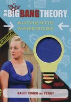 Big Bang Theory Seasons 6 & 7 Wardrobe Card M30 Kaley Cuoco as Penny