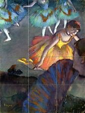 Ballet, from a box view Tile Mural Kitchen Bathroom Wall Backsplash Art 12.75x17