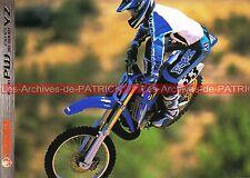 YAMAHA PW 50 80 ; YZ 80 125 250 ; 80 LW - 2000 : Brochure Dépliant Moto   #0633#