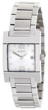 Gucci Silver Dial Stainless Steel Bracelet Women's Watch 7700L