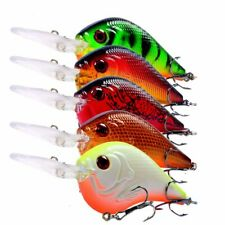 5pcs/lot 10g 9.5cm Crank Fishing Lures Set Lifelike Hard Baits Crankbaits Treble