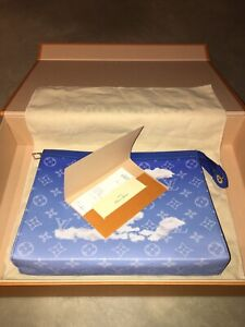 Authentic Louis Vuitton Clouds A4 Pochette