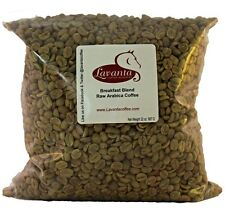LAVANTA COFFEE GREEN BREAKFAST BLEND TWO POUND PACKAGE
