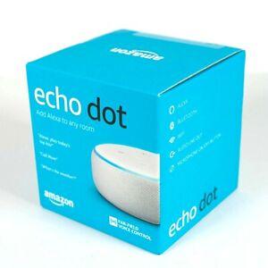 Amazon Echo Dot (3rd Generation) Smart Speaker - Sandstone - NEW SEALED