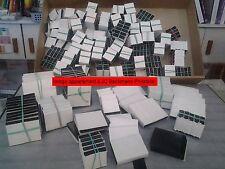 1 KILOGRAMME POCHETTES HAWID FOND NOIR DECOUPEES - CHOISISSEZ VOS DIMENSIONS
