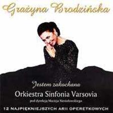CD GRAZYNA BRODZIŃSKA / BRODZINSKA  Jestem zakochana arie operetkowe