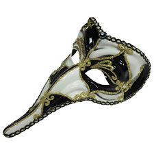 Loki # Carnaval Masque Yeux Noir et Blanc Vénitien Déguisement Bal Accessoire