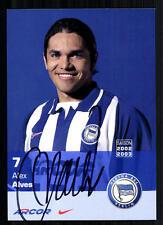 Alex Alves (+2012) Hertha BSC Berlin 2002-03 TOP AK  + A 72473