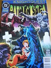 BATMAN Saga La crociata Knightquest n°14 1997 ed.Play Press  [G.154]