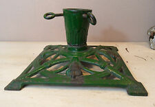 #19 Antique German Jugendstil Cast Iron Christmas Tree Stand