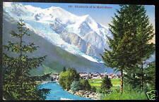 FRANCE~1933 CHAMONIX ~ Town ~ Village et Mont Blanc