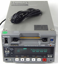 PANASONIC AJ-D250 AJ-D250P MINT WARRANTY DVCPRO PLA REC VISA MASTER AMEX DISCOVE