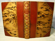 Oliver Goldsmith. Selected Works. 1901 Root & Son Morocco Binding