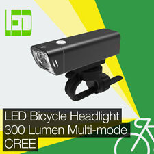 High Performance 300LM LED Bicycle/Bike Headlight/Front Light CREE