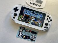 512 Giga Ps5 CUSTOMIZED Psvita Pch 2006 White Slim 3.65