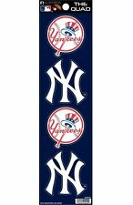 Rico The Quad Set of 4 Decals Stickers 2x2 Inches MLB  New York Yankees