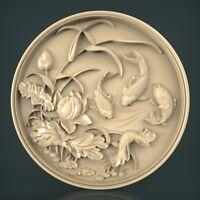 (1013) STL Model Panno for CNC Router 3D Printer Artcam Aspire Bas Relief