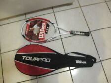 Wilson Tour Pro Tennis Racket L3 4-3/8 Grip WRT3187003 With Carrying Case NEW!