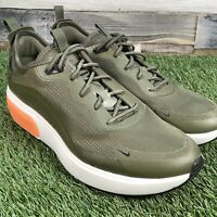 UK4.5 Womens Nike Air Max Dia Trainers - Olive White Orange - 1 EU38