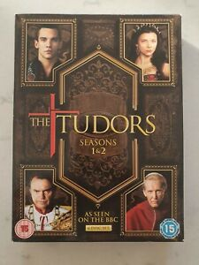 The Tudors Complete Series Seasons 1 & 2 TV Show DVD Set Jonathan Rhys Meyers