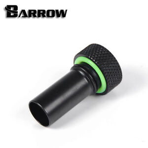"Barrow G1/4"" Matte Black Flow Direction Connector-170"