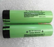 2pcs New Genuine Original NCR18650B 3.7V 3400mAH Battery Panasonic Made in Japan